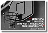 Make It Happen - NEW Motivational Classroom POSTER
