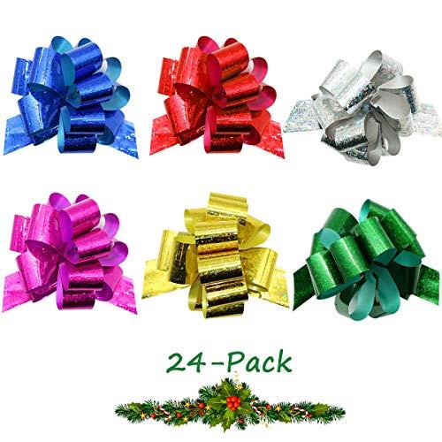 24PCS Gift Pull Bows- 4