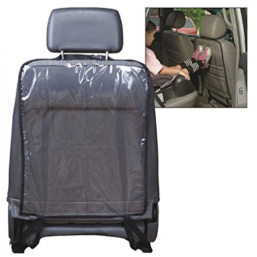 Price comparison product image Mchoice Car Auto Seat Back Protector Cover for Children Kick Mat Mud Clean (Black)