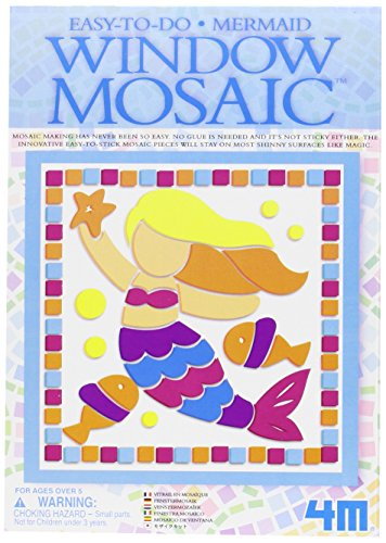 4m Mini Window Mosaic Art (3 Assorted)