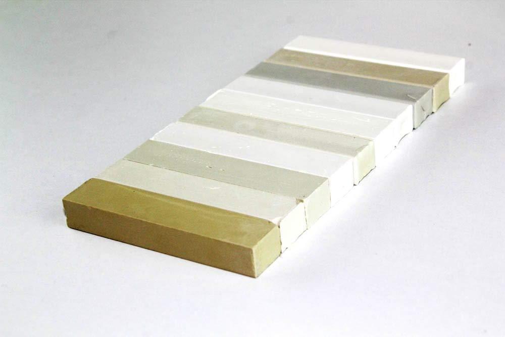 Konig Cire de Remplissage de Ré paration 10 x 8 cm Mixtes Blancs (# 150) Hardwax