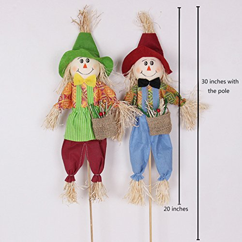 Scarecrow(2pcs) Halloween Garden Stake Decoration