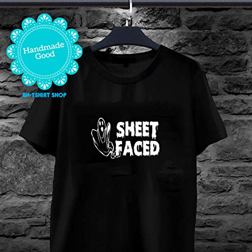 Halloween Ghost - Funny Sheet Faced Drunk Ghost Halloween T -shirt for men and women