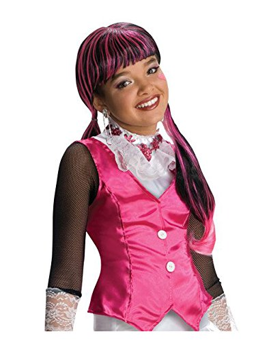 Monster High Child's Draculaura Costume Wig -