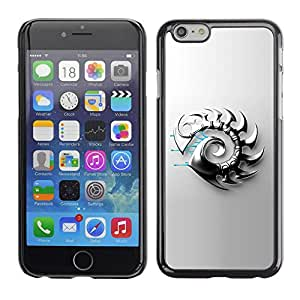 Paccase / SLIM PC / Aliminium Casa Carcasa Funda Case Cover para - Abstract Metal Blade - Apple Iphone 6 Plus 5.5