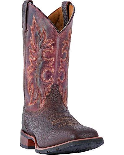 Square Boots Brown Laredo Toe Durant Dark Rust Mens wFXFq0