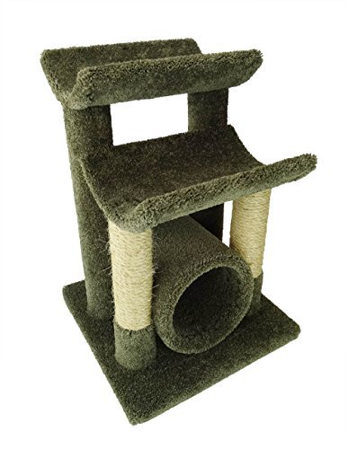 New Cat Condos Premier Cat Scratch and Sleep Furniture, Green