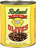 Roland Sliced Ripe Olives, 55-Ounce Can (Pack of 2)