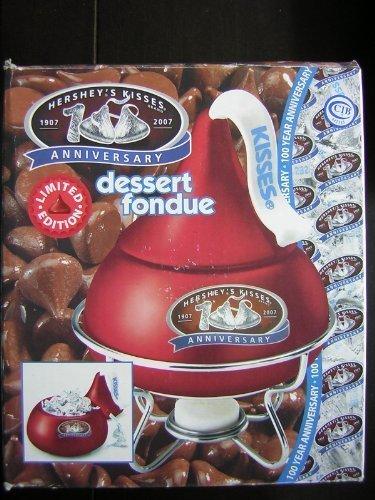 - Hershey's 100th Anniversary Limited Edition Red Kiss Dessert Fondue Set Kisses