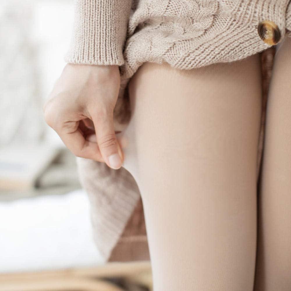 Cykably Color de piel desnuda pantimedias otoño e invierno más terciopelo engrosamiento carne falsa color carne fondo calcetines medias engrosamiento 280g (0-10 grados): Amazon.es: Ropa y accesorios