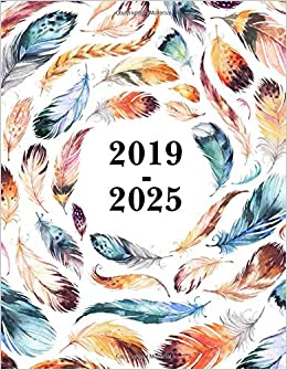 Monthly Calendar To Print, December 2019-2025 Amazon.com: 2019 2025 Feathers Seven Year Planner 8.5