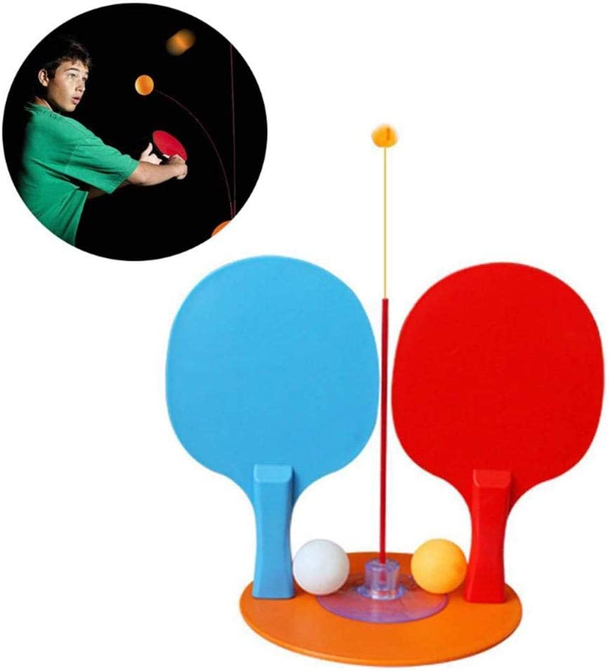 Entrenamiento de juguete de tenis de mesa con eje suave y elástico   Ping Pong Trainer Elastic Rod 90CM Descompresión Eye Training Ball Con Ocio Descompresión Deportes Set Interior Outdoor Play