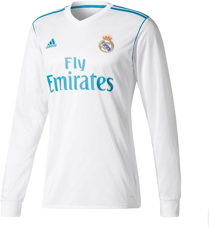 Player Print - adidas Performance Real Madrid Asensio n.º 20 - Camiseta de primera equipación del Real Madrid 2017-2018, diseño de Asensio n.º 20, hombre, blanco, XS: Amazon.es: Deportes y aire libre