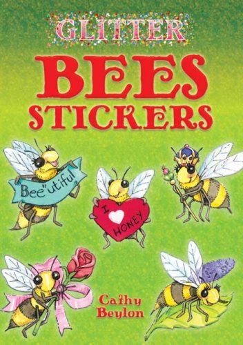 Glitter Bees Stickers (Dover Little Activity Books Stickers)