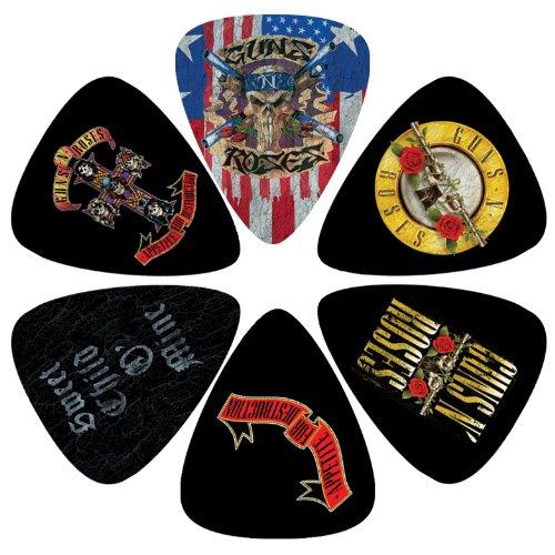 N Guns Banner Roses (Guns N Roses Guitar Pick)