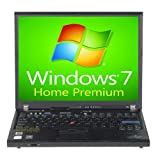 IBM Lenovo Laptop ThinkPad T60 Notebook Computer 1.83GHz - 2GB - 80GB - DVD+CDRW - Windows 7 Home Premium