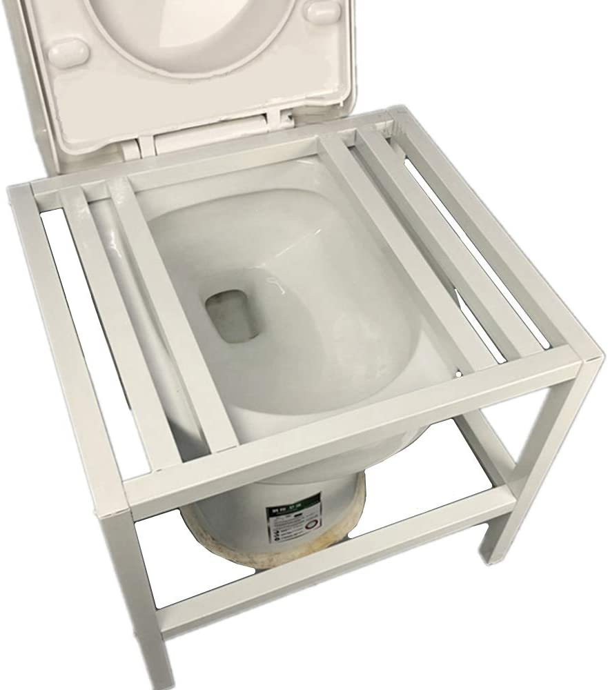 Squat Toilet Advanced Replacer Toilet Refit With Anti-Slip Mat