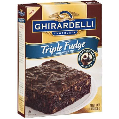 Triple Fudge Premium Brownie Mix (Pack of 2)