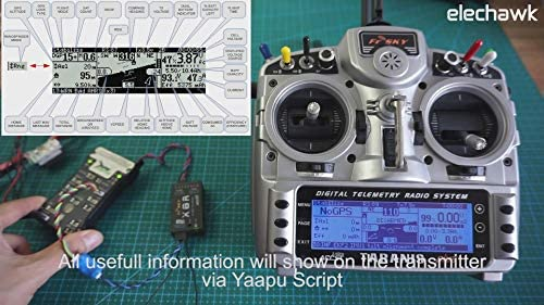 FrSky Yaapu Telemetry Converter Cable Pixhawk to Taranis X9D