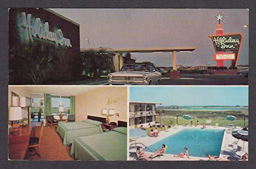 Holiday Inn Georgetown SC 3-view postcard 1960s