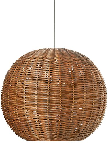 Outdoor Wicker Ball Lights in US - 3
