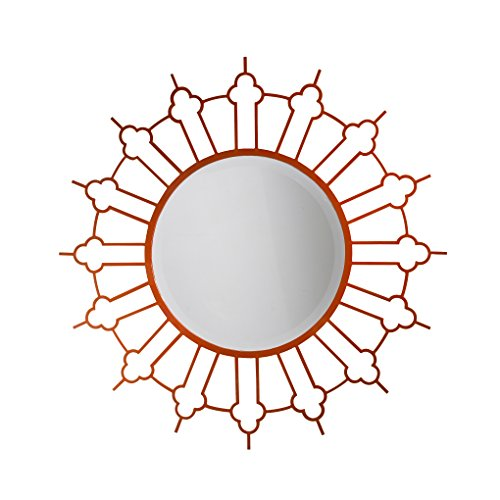(French Heritage Marrakesh Mirror, Terracotta Finish)