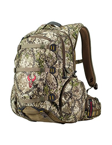 Badlands Superday Camouflage Hunting Backpack - Bow, Rifle, and Pistol Compatible, Approach Camo