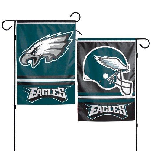 WinCraft Philadelphia Eagles Polyester 12.5 x 18 Inches 2-Sided Garden Yard Wall Flag ()