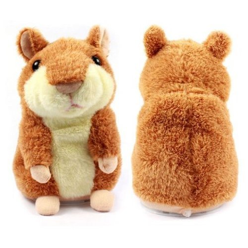 Amazon.com: The Cute Mimicry Pet Hamster Talking Plush Animal Toy Electronic Hamster Mouse: Toys & Games