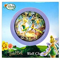 Tinkerbell Fairies 8 Round Wall Clock in Printed Box