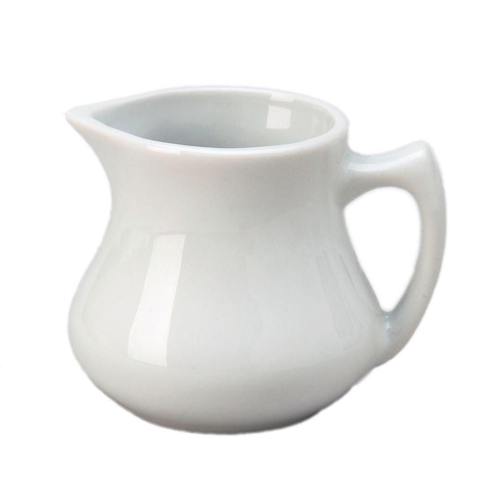 Vertex China CRE-4-P Argyle and Catalina Creamer, 4 oz, Porcelain White (Pack of 36)