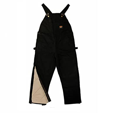 ce4f305c45d3 Rasco FR HEAVY Black INSULATED Winter Bib Overalls - Flame Resistant  BLHB2427