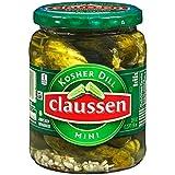 Claussen Kosher Dill Mini Pickles, 20 fl oz Jar