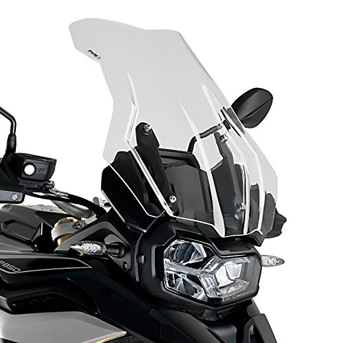 Windshield Touring for BMW F 850 GS//Adventure 18-19 clear Puig 3595w