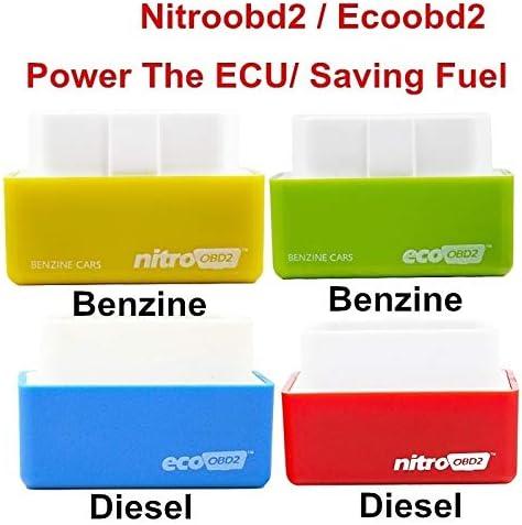 /économiseur de Carburant /évolutif Obd2 Performance Upgrade /Économiseur de Carburant /économique pour /économie et /émissions r/éduites SHUNYUS Bo/îte de r/églage de Puce Rouge