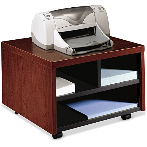 HON Company Products - Printer/Fax Stand, Mobile, 20amp;quot;x19-7/8amp;quot;x14-1/8amp;quot;, Mahogany - Sold as 1 EA - Mobile printer/fax cart