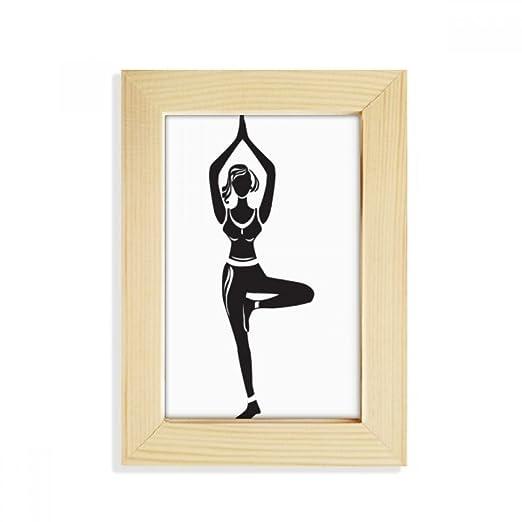 DIYthinker Yoga Girl Soporte Mantenga la Silueta de ...