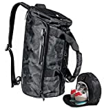 Sports Gym Bag Travel Duffel Backpack for Women and