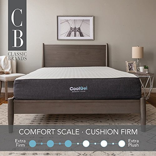 Classic Brands 10.5 Inch Cool Gel Ventilated Memory Foam Mattress, Queen by Classic Brands (Image #10)