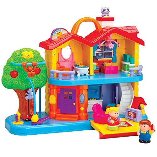 CP Toys Toddler Interactive Discovery House Playset, used for sale  Delivered anywhere in USA