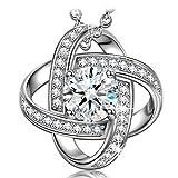 NINASUN 'Silk of Love' 925 Sterling Silver Women Necklace Pendant