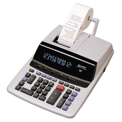 Sharp 12-Digit Calculator, 2 Color Printing, 9-1/2''x12-1/2''x2-2/3'' (VX2652H)