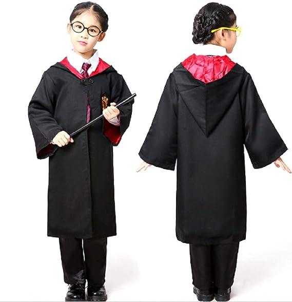 Amazon Com Peachi Kids Halloween Wizard Robe Costume Inspired By