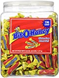 Bit O' Honey provides a unique honey taste with a long lasting chew. It has a rich, creamy honey-nutty flavor.