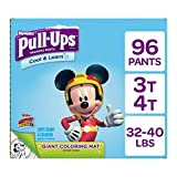 Pull ups Cool and Learn training Pants for Boys, 3t-4t (32-40 lb.), 96 count