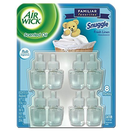 Air Wick Snuggle Fresh Linen Scent (8 Refills)