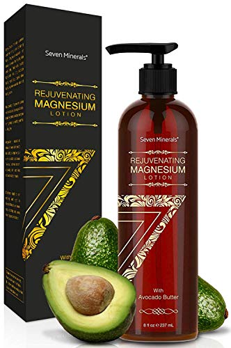 51ZfzSi5qbL - NEW Rejuvenating Magnesium Body Lotion - Healthy Daily Moisturizer - NO Endocrine Disruptors. A Total Skin Spa With Silky Avocado Butter, Anti-Aging Royal Jelly, Organic Essential Oils & More!
