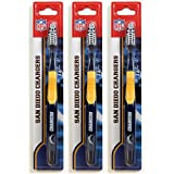 Siskiyou San Diego Chargers Toothbrush - 3 Pack