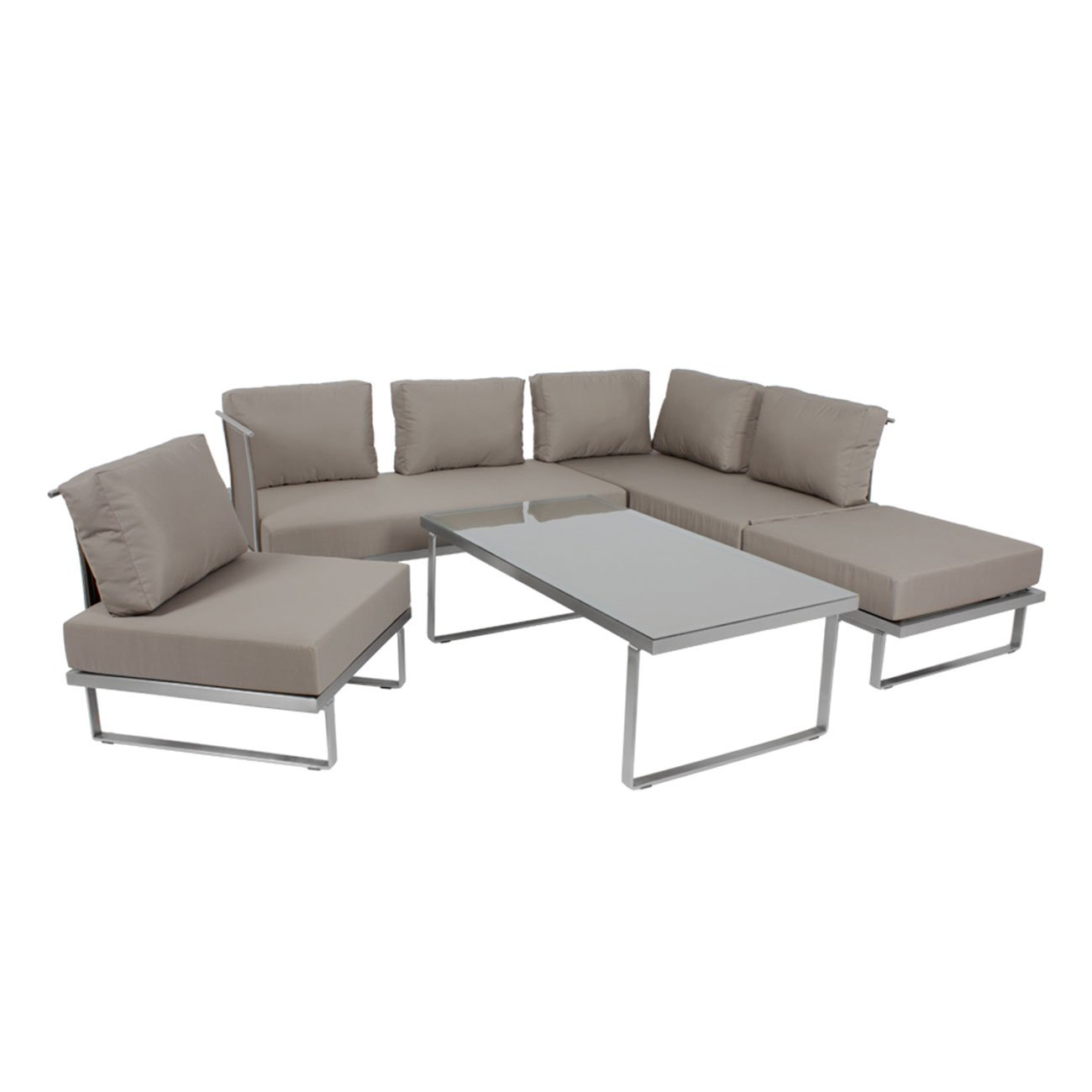 Outdoor Lounge Sofa Outliv. Corsica 4tlg. multifunktional ...