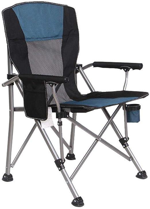 WOYQS Silla Camping Silla plegable al aire libre, silla for ...